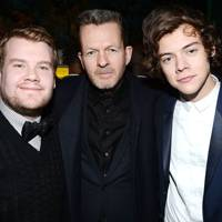 James Corden, Nick Hart and Harry Styles