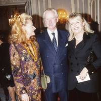 Countess Sophie Walderdorff, John Asprey and Mrs Marcus Margulies