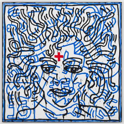 Untitled by Keith Haring 1984