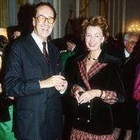 Count Wolfgang zu Schallenberg and Mrs Thomas Klestil