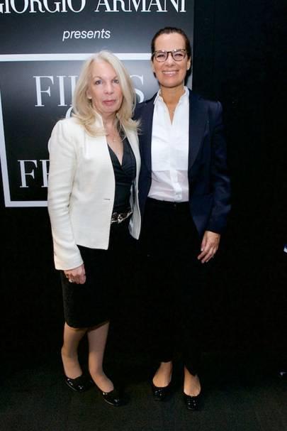 Amanda Nevill and Roberta Armani