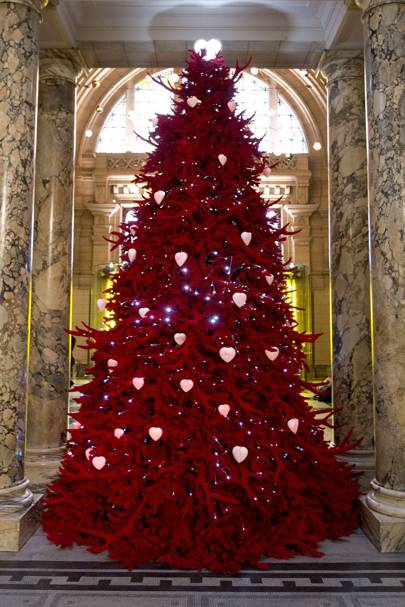 The V&A Museum's Christmas tree