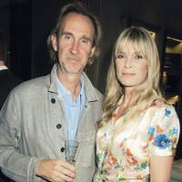 Mike Rutherford and Deborah  Leng