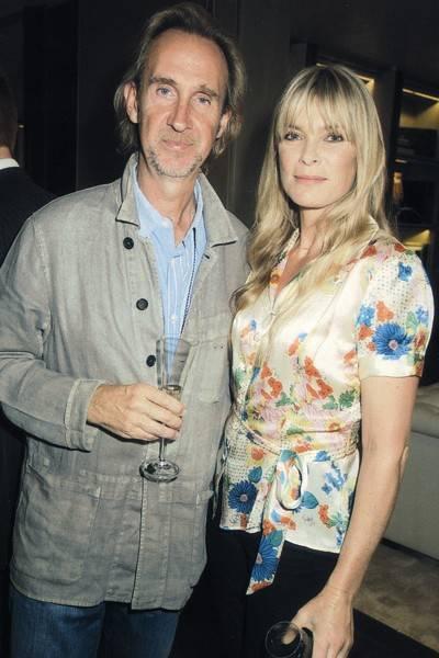 Mike Rutherford and Deborah  Leng