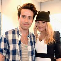 Nick Grimshaw and Becca Dudley