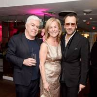 Tim Blanks, Jo Levin and Tom Ford