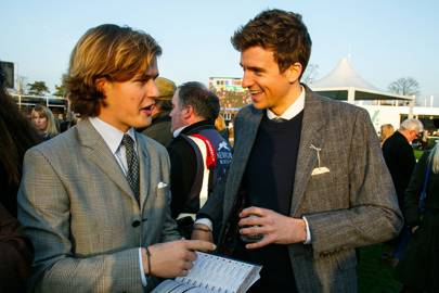 Lord Settrington and Greg James
