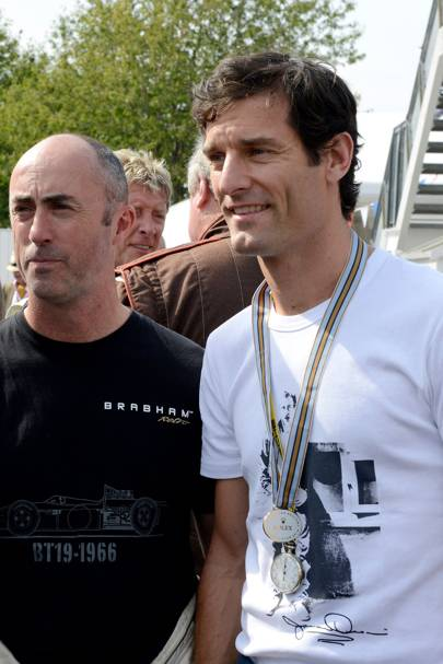 David Brabham and Mark Webber