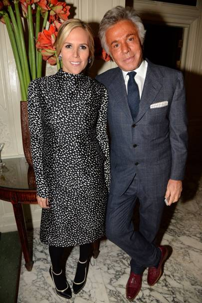 Tory Burch and Giancarlo Giammetti