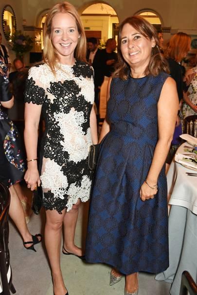 Kate Reardon and Alexandra Shulman