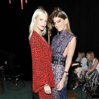 Poppy Delevingne and Bianca Brandolini