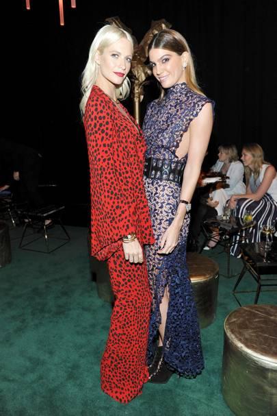 Poppy Delevingne and Bianca Brandolini