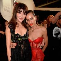 Annabelle Neilson and Alice Dellal, 2015