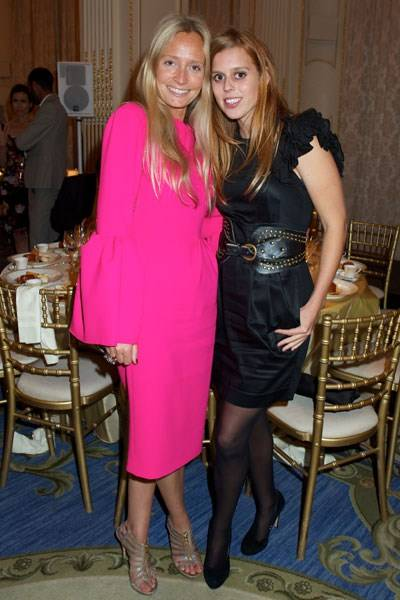 Martha Ward and Princess Beatrice