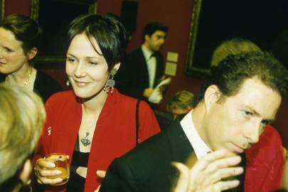Mrs Bryan Ferry and Viscount Linley