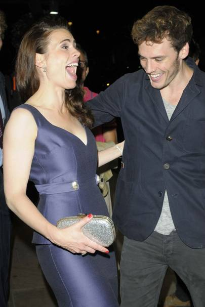 Hayley Atwell and Sam Claflin