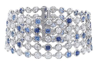Sapphire and diamond bracelet, POA, Van Cleef & Arpels