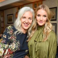 Ruth Chapman and Rosie Huntington-Whiteley
