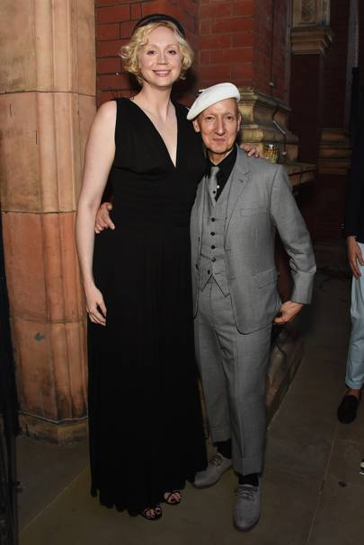 Gwendoline Christie and Stephen Jones