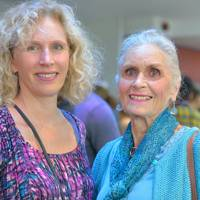 Claire Trigger and Daphne Selfe