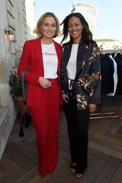 Sophie Ashby and Alice Casely-Hayford