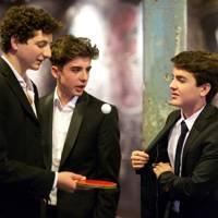 Pietro Lais, Pablo Mora Montoya and Nicolo Pircio Birol