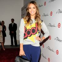 Jessica Alba in 3.1 Phillip Lim for Target