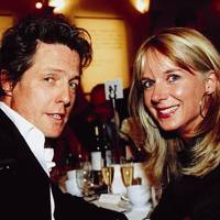 Hugh Grant and Mrs Rupert Dickinson