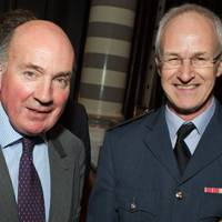 General Lord Richard Dannatt and Air Vice Marshal Matt Wiles