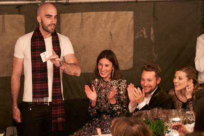 Drummond Money-Coutts, Tessa Packard, Oliver Rampley and Lizzy Pelly