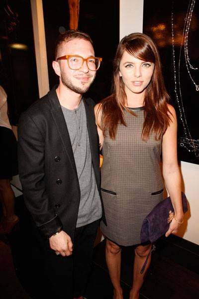 Damien Collins and Ophelia Lovibond