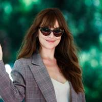 Dakota Johnson arrives at the festival