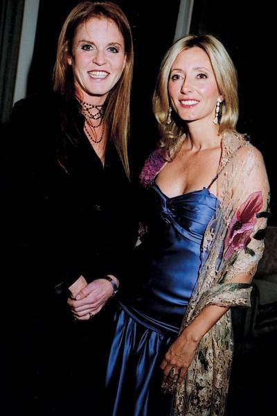 Sarah Ferguson and Princess Pavlos of Greece