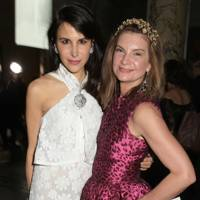 Caroline Sieber and Natalie Massenet