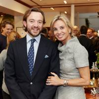Alex Mavros and Princess Corinna su Sayn Wittgenstein