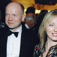 Mrs William Hague and William Hague