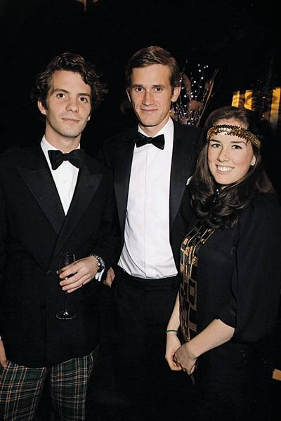 Cranley Macfarlane, Henry Macleod and Laura Troughton