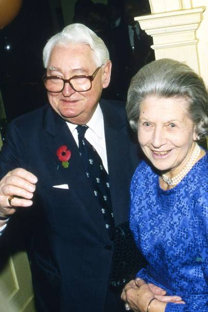 Lord Bramall and Lady Bramall