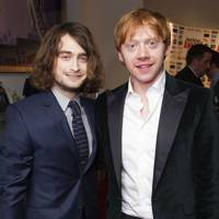 Daniel Radcliffe and Rupert Grint