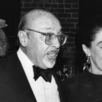 Ahmet Ertegun and Mica Ertegun