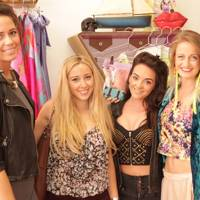 Juli Miller, Helena Warwick Cross, Alice Luella Murray and Charlotte Summers