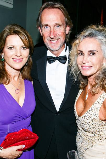 Chica Herbert, Mike Rutherford and Angie Rutherford
