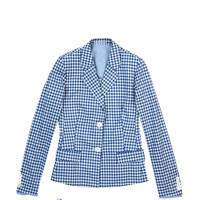 Cotton blazer, £425; cotton shorts, POA, both by Richard Nicoll