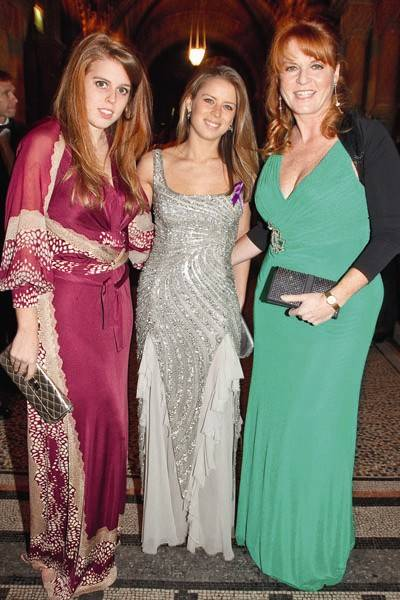 Princess Beatrice, Lydia Forte and Sarah, Duchess of York