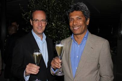 David Loewi and Des Gunewardena
