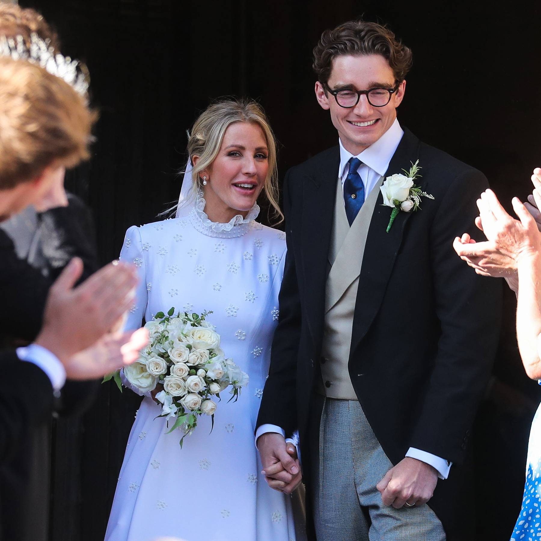 A look at Ellie Goulding's (second) wedding dress