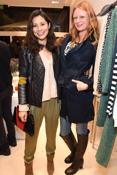 Jasmine Hemsley and Olivia Inge