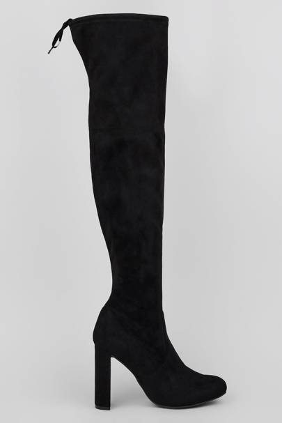 New Look thigh-high boots