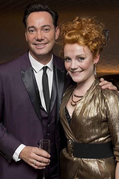 Craig Revel Horwood and Daisy Evans