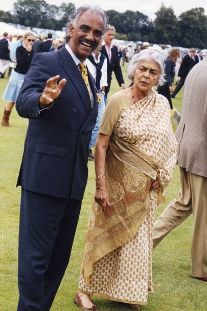 Colin Dhillon and the Rajmata of Jaipur